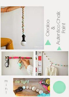 Crea Decora Recicla by All washi tape | Autentico Chalk Paint: De:light Colaboración Autentico Chalk Paint con Cr...