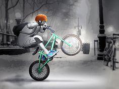 Winter BMX Mania - foxyspiele.com