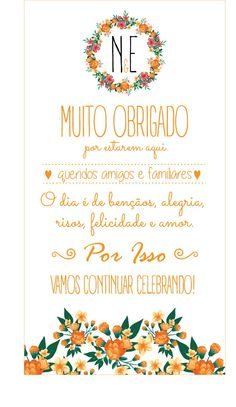 Agradecimento Casamento | Decora | Elo7 Surface Design, Wedding Details, Ale, Wedding Photos, Dream Wedding, Wedding Decorations, Lettering, Marriage Tips, Wedding Invitation