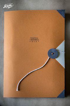 Handmade travel journal - Nemgraphisme.com