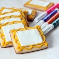 Art Party Cookies