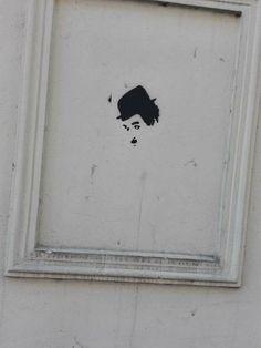 Charlie Chaplin CZ street art