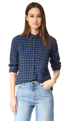 Madewell Узкие рубашка на пуговицах