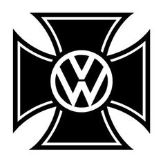 Outlaw Custom Designs, LLC - VW - Iron Cross Logo, $5.00 (http://www.outlawcustomdesigns.com/vw-iron-cross-logo/)
