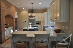 Modern French Marble Kitchen - Kitchen Designs - Decorating Ideas - HGTV Rate My Space