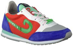 Rode Cruyff Classics Sneakers VONDELPARK TROPHY 4f0e9a46b
