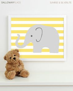Kids Art for Children Baby Nursery Decor by DallowayPlaceKids, $21.00