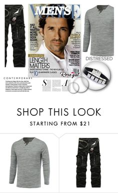 """Mens vogue"" by century-fashion ❤ liked on Polyvore featuring men's fashion and menswear"