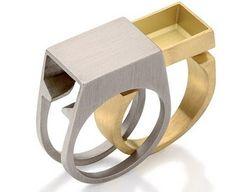 "vjeranski: 3D printed ""Secret Compartment ring by Antonio Bernardo """