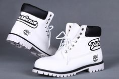Man Timberland 6 inch Custom Premium Boot White Black UK,timberland boots for kids,cheap timberland boots for men,