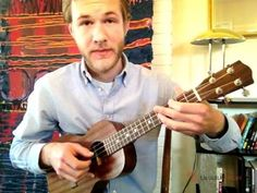 """How to Fingerpick """"Silent Night"""" on the Ukulele. All his tutorials are great!"""