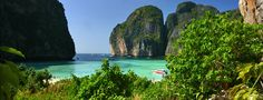 """Phi Phi Don (or Koh Phi Phi, Koh means """"island"""" in Thai) is the largest island of the archipelago and the only one with tourist infrastructure."""