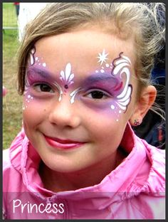 Pretty Princess Face Painting