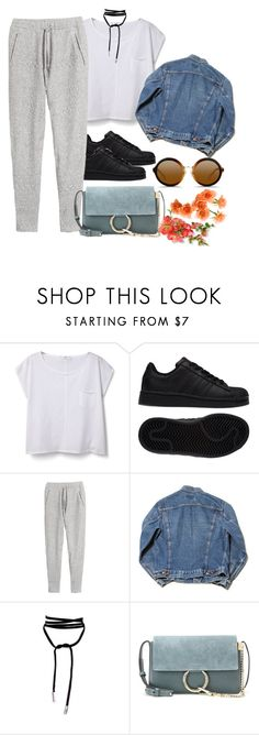 """""""#347"""" by madamenatali ❤ liked on Polyvore featuring MANGO, adidas, H&M, Chloé, 3.1 Phillip Lim, comfy and jogger"""