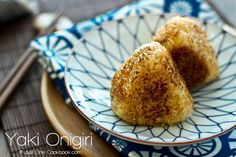 Always a favorite in Izakayas, yaki onigiri are grilled crispy Japanese rice ball covered in savory soy sauce.