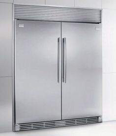 Frigidaire stand alone freezer and refrigerator units. In pantry