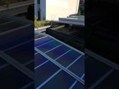 Roll-A-Cover's Retractable Skylight System at J House in Greenwich, CT
