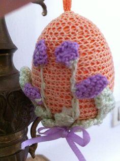 Uova uncinetto segnaposto