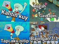 All Jokes, All Meme, Cartoon Jokes, Good Jokes, Funny Jokes, R Memes, Jokes Quotes, Quotes Lucu, Meme Comics
