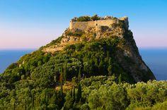 Angelokastro,  Byzantine Castle, Corfu Ionian Island, Greece