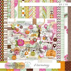 Harmony - Kit by France M. Designs and Anita Designs