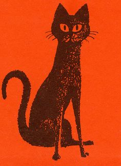 Black Cat by jerkingchicken, via Flickr