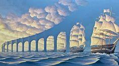 Assim é o mundo da arte, sem fronteiras, sem barreiras, onde tudo é possível e tudo está em constante transformação.