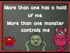 Really silly....but the kids loved it... Possessive nouns Monster song from EDROCKER.COM