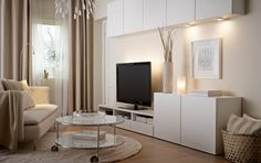 "Ikea Living Room Tv Units New Amazing Cabinet Living Room Furniture Salon Zdja""a""¢cie Od Ikea Living Room Storage, Home Living Room, Room Design, Ikea Living Room, Living Room Decor, Trendy Living Rooms, Interior Design Living Room, Home And Living, Living Room Tv"