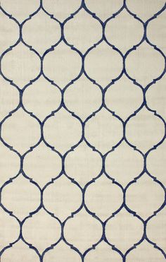 Tina Plush 100% Cotton Area Rug in Ivory design by NuLoom