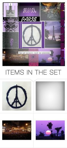 """Pray For Paris "" by isthelastofus ❤ liked on Polyvore featuring art"