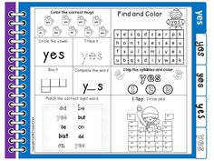 Dolch Primer sight words notebook.  Each page has 9 activities.  A full set of Primer sight words flash cards has also been provided.