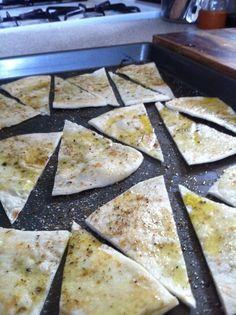homemade baked tortilla chips #Chips #Dips #Salsa #Potato #Kettle # ...