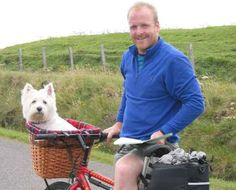 David Hembrow, basketmaker - Bicycles fitted with my baskets Bike Baskets, Biking With Dog, Plastic Laundry Basket, Bicycles, David, Fitness, Dogs, Doggies, Excercise