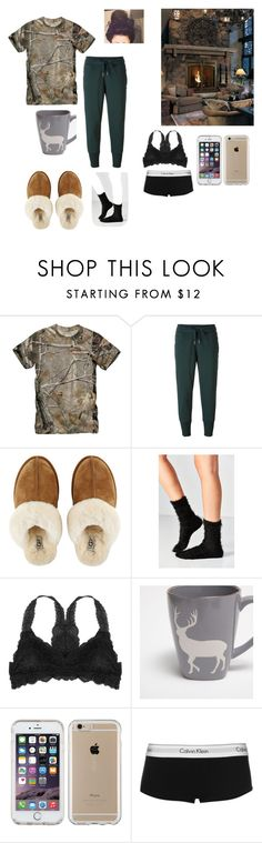 """""""Untitled#153"""" by autumn-latte777 ❤ liked on Polyvore featuring Realtree, adidas, GAS Jeans, UGG, Out From Under, Humble Chic, Zara Home, Speck and Calvin Klein"""