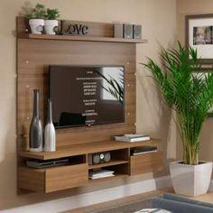 Living room tv wall decor tv shelf 19 new Ideas Tv Unit Decor, Tv Wall Decor, Tv Wall Design, House Design, Tv Design, Modern Tv Wall Units, Living Room Tv Unit Designs, Tv Wall Unit Designs, Home Interior