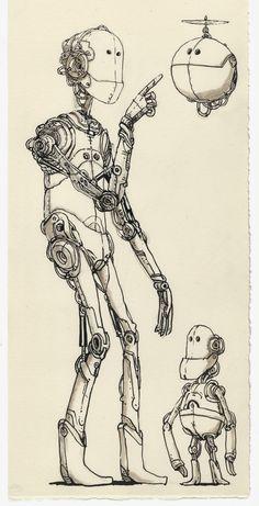 Unruly robot - Mattias Inks