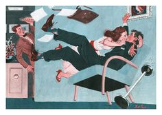 Office Affair by Fred Irvin (1949).