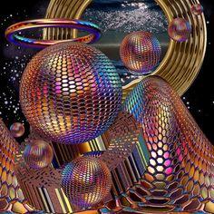 "Fractalicious : Beautiful Fractal Arts — ""Fly Like an Eagle"" Fine Art Print by. Fractal Geometry, Sacred Geometry, Fractal Images, Fractal Art, Fractal Patterns, Fractal Design, Psychedelic Art, Op Art, Slippers"