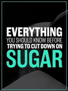 Everything You Need To Know Before Trying To Cut Down On Sugar