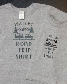 Road Trip Shirt by MSPrintsParties on Etsy
