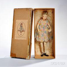 Large Dorothy Heizer Doll and Original Box~Image © Skinner