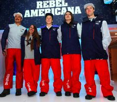 U.S. Freeskiing Olympic Uniform Unveiling (made by The North Face) #Olympics #Sochi #WinterGames