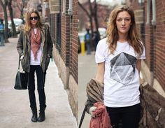 Fur Lined Anorak From Mango, Organic Crystal Tee From Http://Www.Theorphansarms.Com, Vintage Purse, Combat Boots From Topman