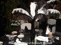 Black and White Party Ideas | Black & White Staff Party - Eventure - Events, Weddings & Parties