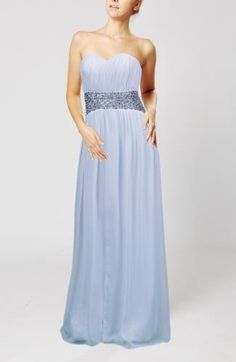 Chiffon Sweetheart Bridesmaid Dress - Order Link: http://www.theweddingdresses.com/chiffon-sweetheart-bridesmaid-dress-twdn6515.html - Embellishments: Ribbon , Pleated , Beaded , Sash; Length: Floor Length; Fabric: Chiffon; Waist: Natural - Price: 134.99USD