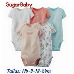 NWT Burt/'s Bees Infant 3-6 MONTHS Organic Cotton PINK Bodysuits 5-PACK