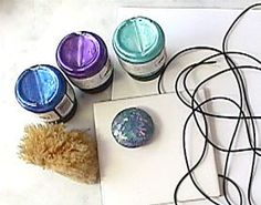 Mini-Lessons - Painting Buna Cord with Lumiere