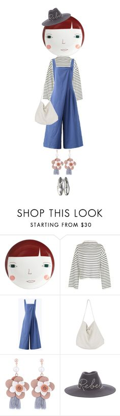 """eva1769"" by evava-c on Polyvore featuring Donna Wilson, Topshop, O-Newe, Cabbages & Roses and Eugenia Kim"