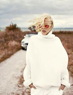 Le parfait total look blanc #22 (mannequin Abi Rose)